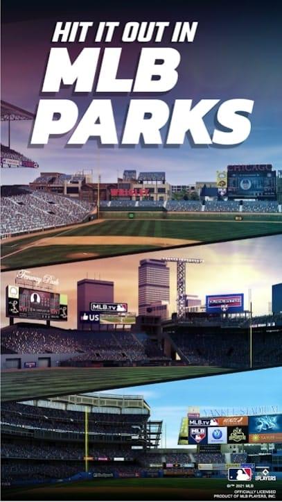 MLB Tap Sports Baseball 2021 мод