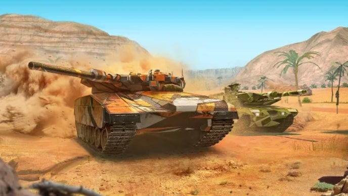 Modern Assault Tanks мод