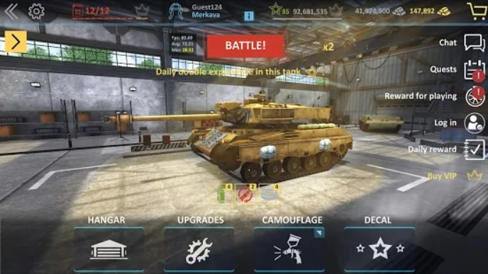 Modern Assault Tanks скачать