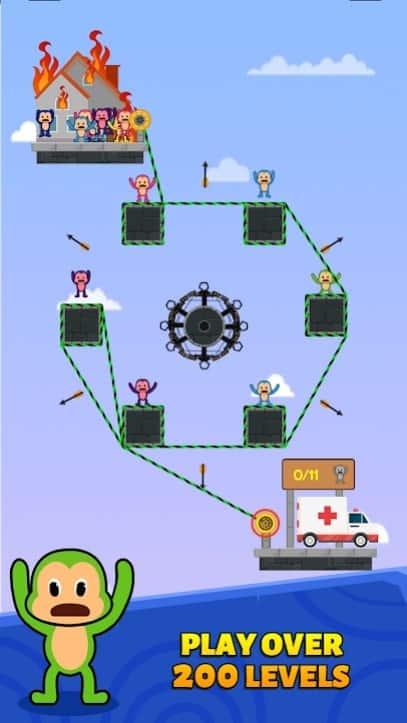 Monkey Rescue Puzzle читы