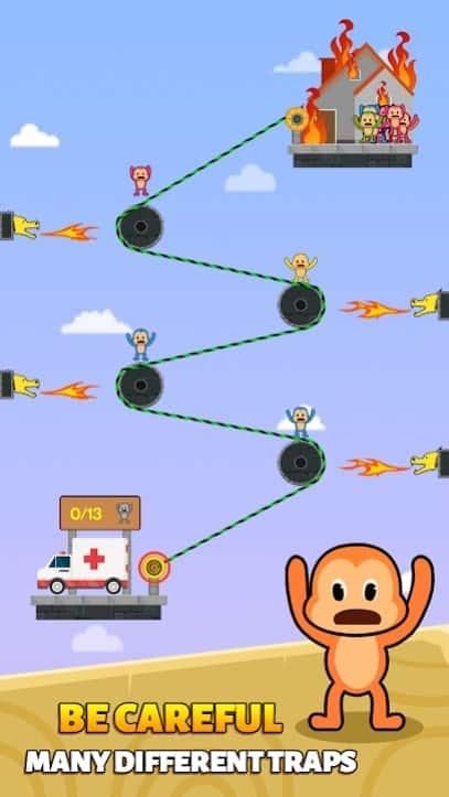 Monkey Rescue Puzzle мод