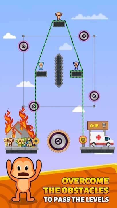 Monkey Rescue Puzzle скачать