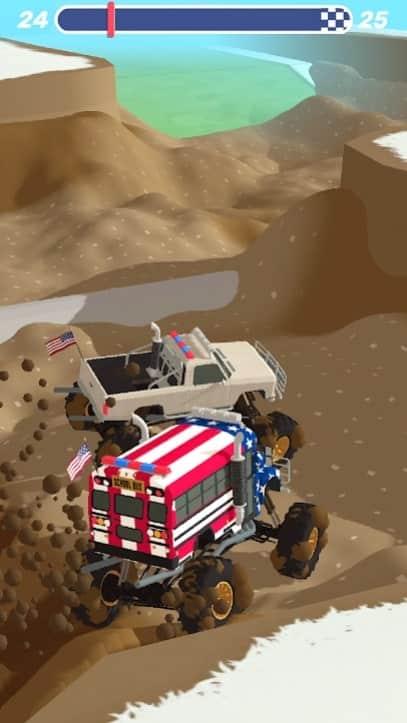 Mudder Trucker 3D андроид