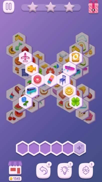Подбери шестиугольники андроид