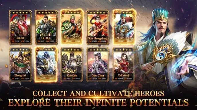 Rise of Heroes: Three Kingdoms читы