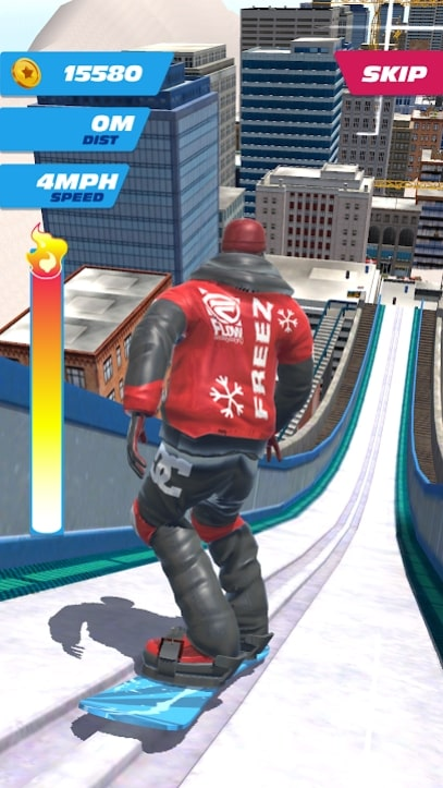 Ski Ramp Jumping андроид
