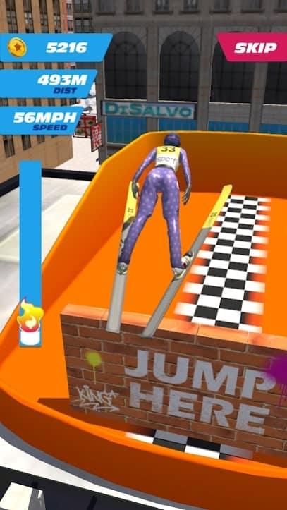 Ski Ramp Jumping мод
