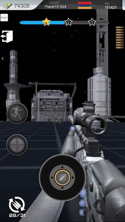 Space Warrior: Target Shoot читы