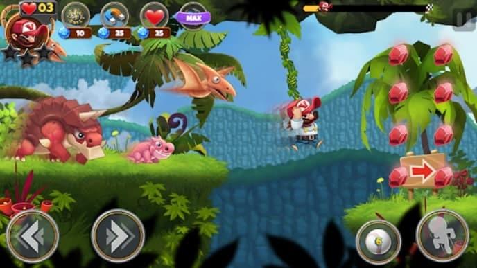 Super Jungle Jump мод