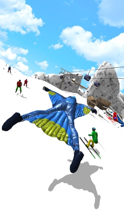 Base Jump Wing Suit Flying читы