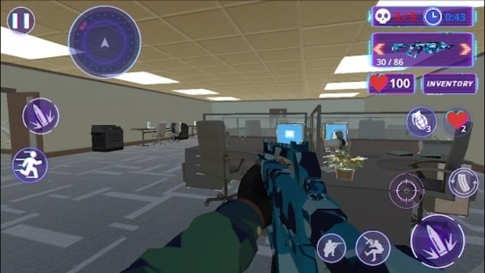 Battle of Enemy: Commando Strike мод