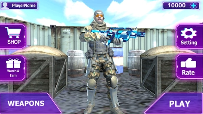 Battle of Enemy: Commando Strike скачать