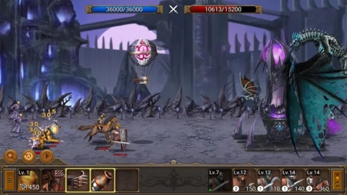 Battle Seven Kingdoms мод