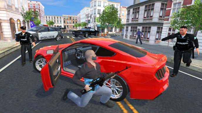 Crime Simulator - Theft Auto читы