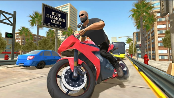 Crime Simulator - Theft Auto мод