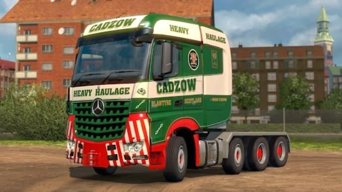 Euro Cargo Truck Simulator мод