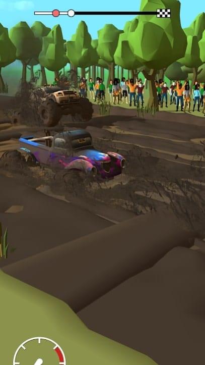 Mud Racing мод
