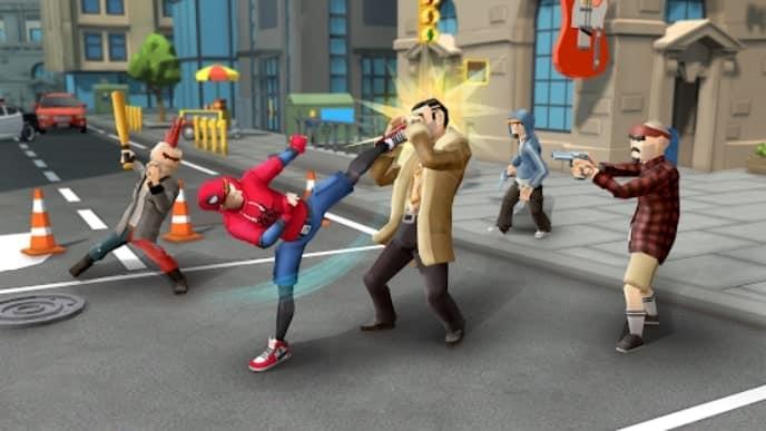 Spider Fighter: Superhero Revenge мод