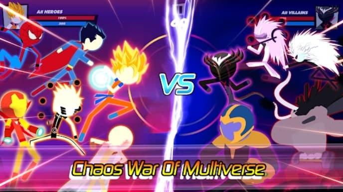 Super Stick Fight All-Star Hero андроид
