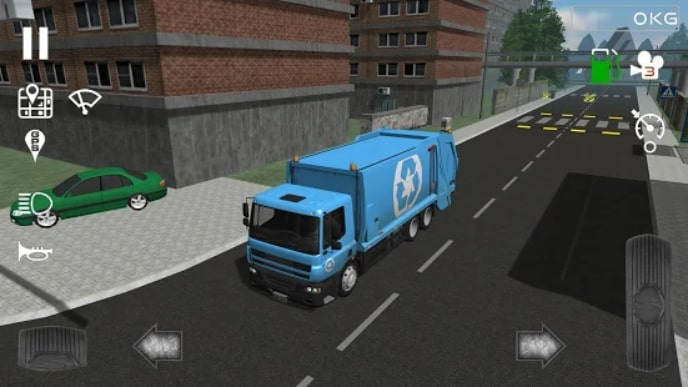 Trash Truck Simulator андроид