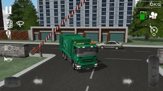 Trash Truck Simulator мод