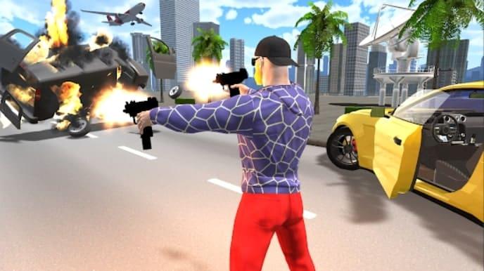 Auto Theft Sim Crime мод