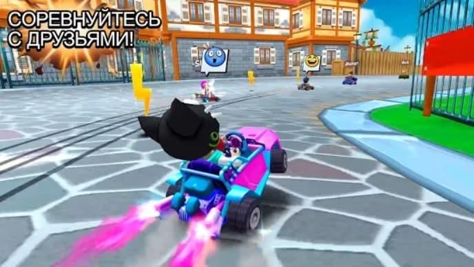 Boom Karts мод