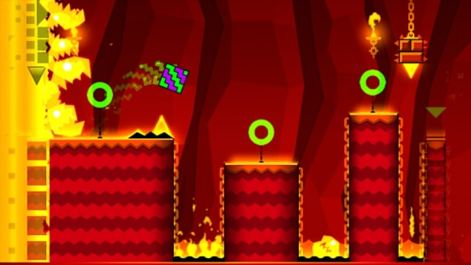 Geometry Dash Meltdown андроид