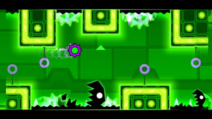Geometry Dash Meltdown мод