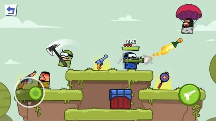Gun n Jump андроид