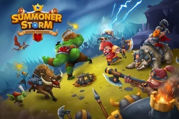 Summoner Storm: Wizard Kingdoms андроид